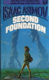 Michael Whelan's cover for Second Foundation
