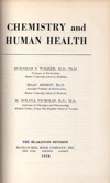 Cover of Chemistry and Human Health