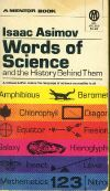 Cover of Words of Science
