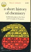 Cover of A Short History of Chemistry