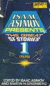 Cover of Isaac Asimov Presents the Great SF Stories 1, 1939