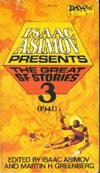 Cover of Isaac Asimov Presents the Great SF Stories 3, 1941
