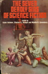 Cover of The Seven Deadly Sins of Science Fiction