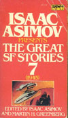 Cover of Isaac Asimov Presents the Great SF Stories 7, 1945
