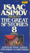 Cover of Isaac Asimov Presents the Great SF Stories 8, 1946