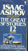 Cover of Isaac Asimov Presents the Great SF Stories 12, 1950