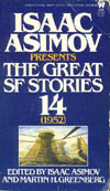 Cover of Isaac Asimov Presents the Great SF Stories 14, 1952
