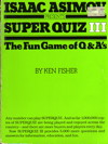 Cover of Isaac Asimov Presents Superquiz 3