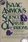 Cover of Isaac Asimov's Book of Science and Nature Quotations