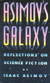 Cover of Asimov's Galaxy: Reflections On Science Fiction