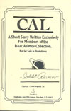 Cover of Cal
