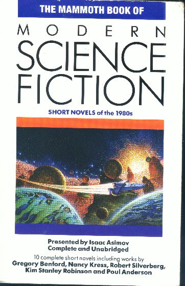 Modern Science Fiction Book Covers : The mammoth book of modern science fiction